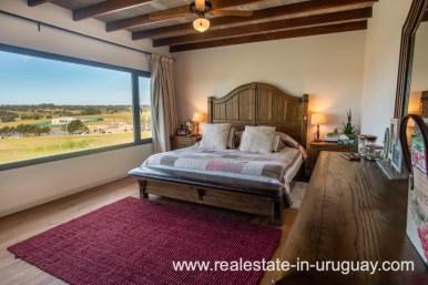 Master suite of Pueblo Mio by La Barra Golf
