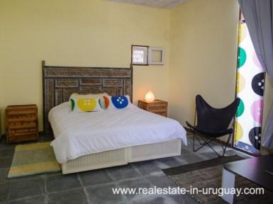 Guest Bedroom of Beach Property in La Carolina
