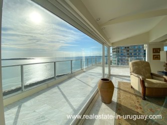 Penthouse on the Mansa Beach in Punta del Este