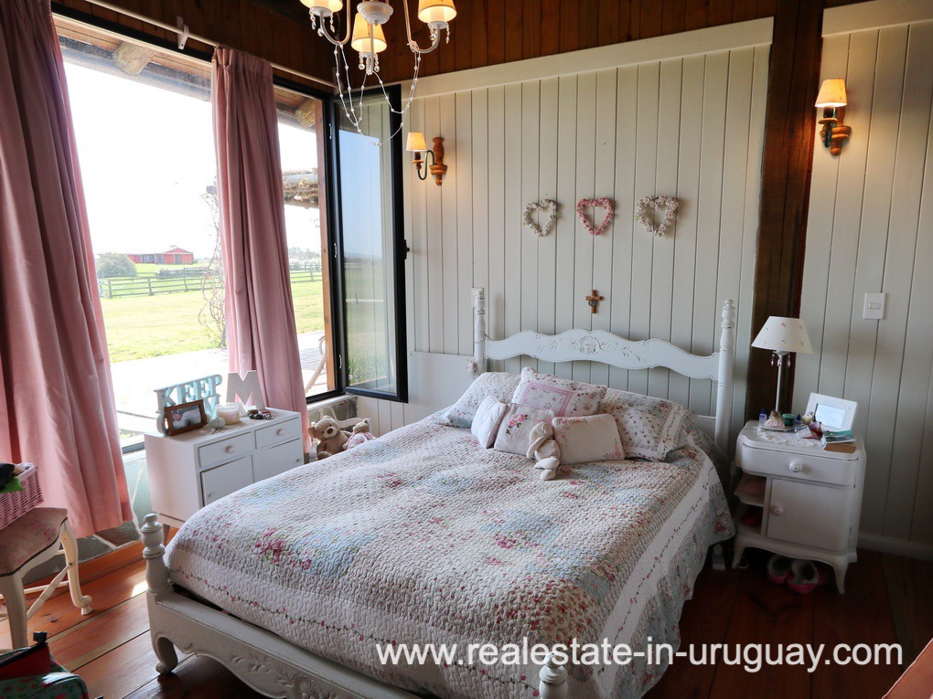 Guest Bedroom of Farm House in El Quijote near Fasano and La Barra