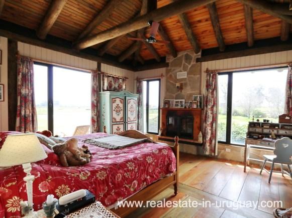 Mastersuite of Farm House in El Quijote near Fasano and La Barra