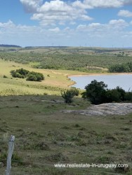 View to Pond of Land with Beautiful Views near Garzon