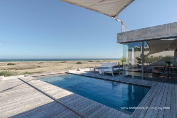 Pool of Modern House on the Beach in Manantiales