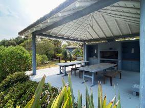 BBQ of Mario Connio House on the Lagoon near Jose Ignacio