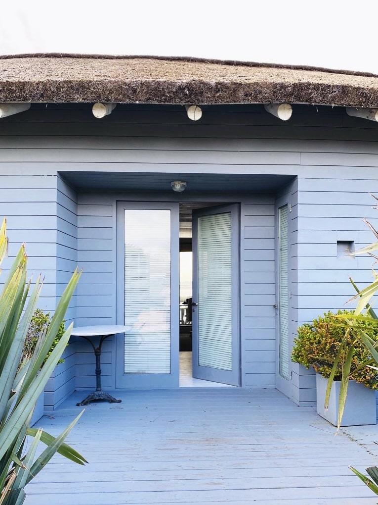 Entrance of Mario Connio House on the Lagoon near Jose Ignacio