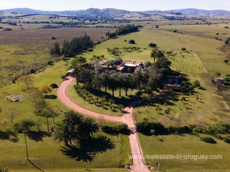 Birdeye View of Country Home in Pueblo Eden