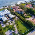 the homes of boca raton aerial view