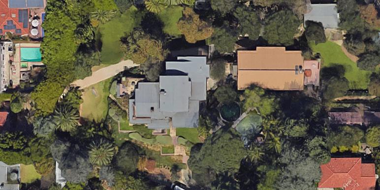 The Los Feliz house