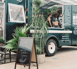 Mobile plant shop