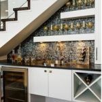 home wine bar, wine cellar inside home