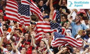 FIFA World Cup America crowd