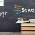 Public Schools, Private Schools, Charter Schools and Homeschools
