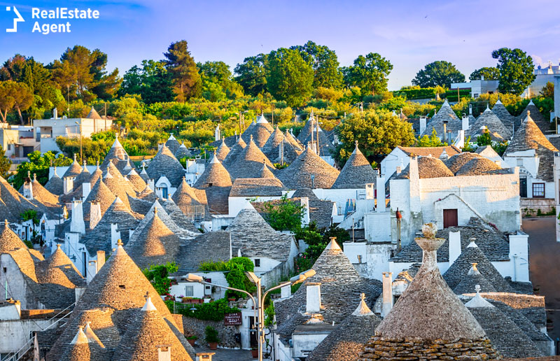 Trulli Alberobello traditional houses Italy