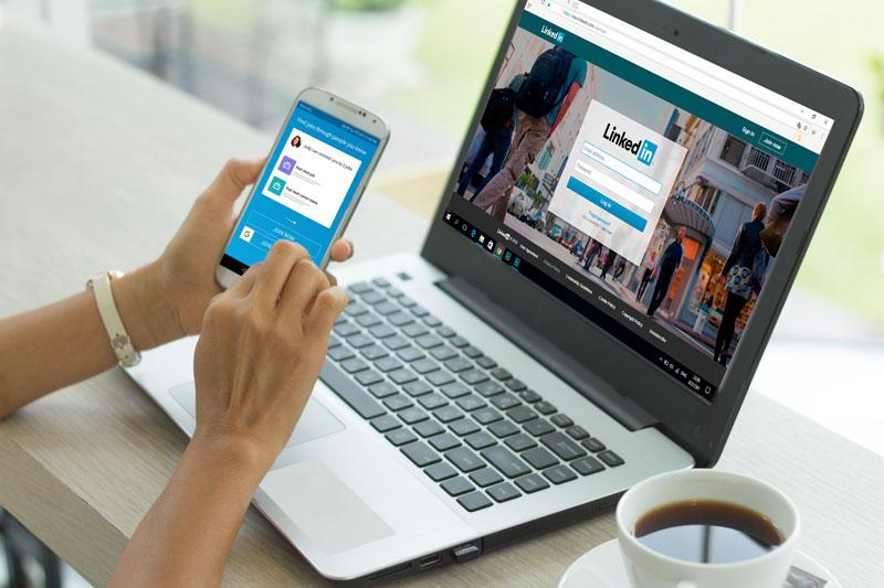 professional social media linkedin