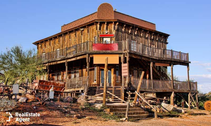 old wild west building