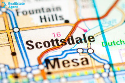 city of Scottsdale position on map