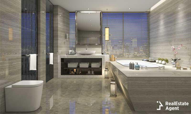 wonderful luxury modern bathroom design   Bathroom Remodel Ideas on a Budget