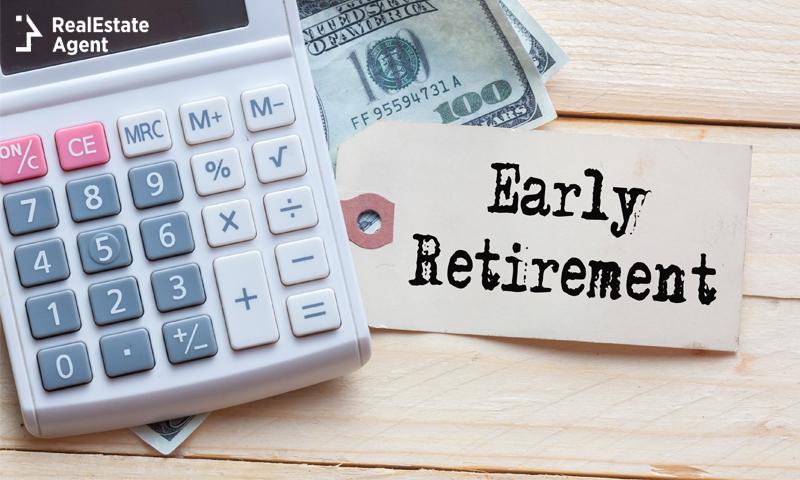 Early retirement visualization