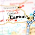 canton georgia map
