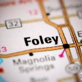 foley alabama us map