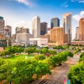 houston texas downtown view