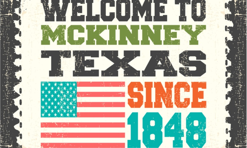 welcome to texas mckinney invitation card