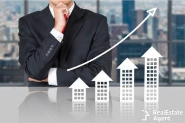 businessman and real estate market