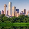 dallas texas us downtown skyline