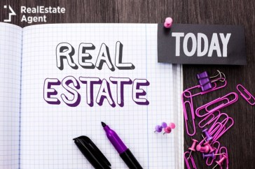 handwriting text real estate