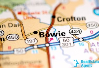 bowie maryland map