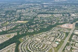 aerial view of ashburn