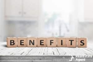 benefits wooden block