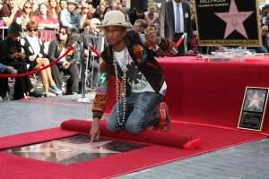 pharrel williams hollywood walk of fame
