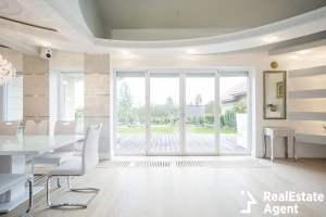 luxury front room with window overlooking