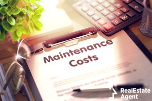 maintenance costs concept