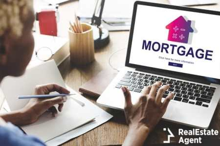 loan mortgage property concept