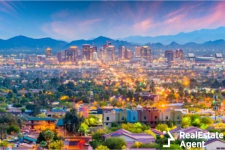 phoenix arizona cityscape downtown view