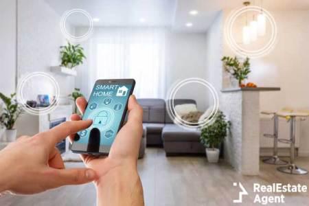 smart home technology interface