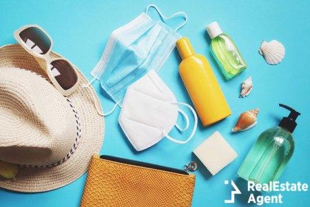 Beach essentials during COVID pandemic