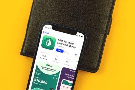 mint application om mobile