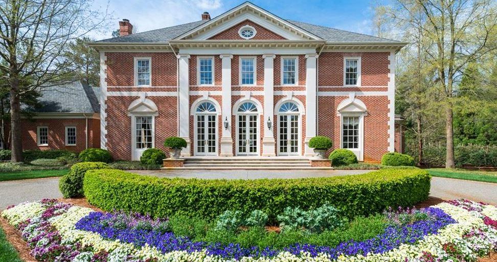 Million Dollar Home In Marietta Atlanta Country Club