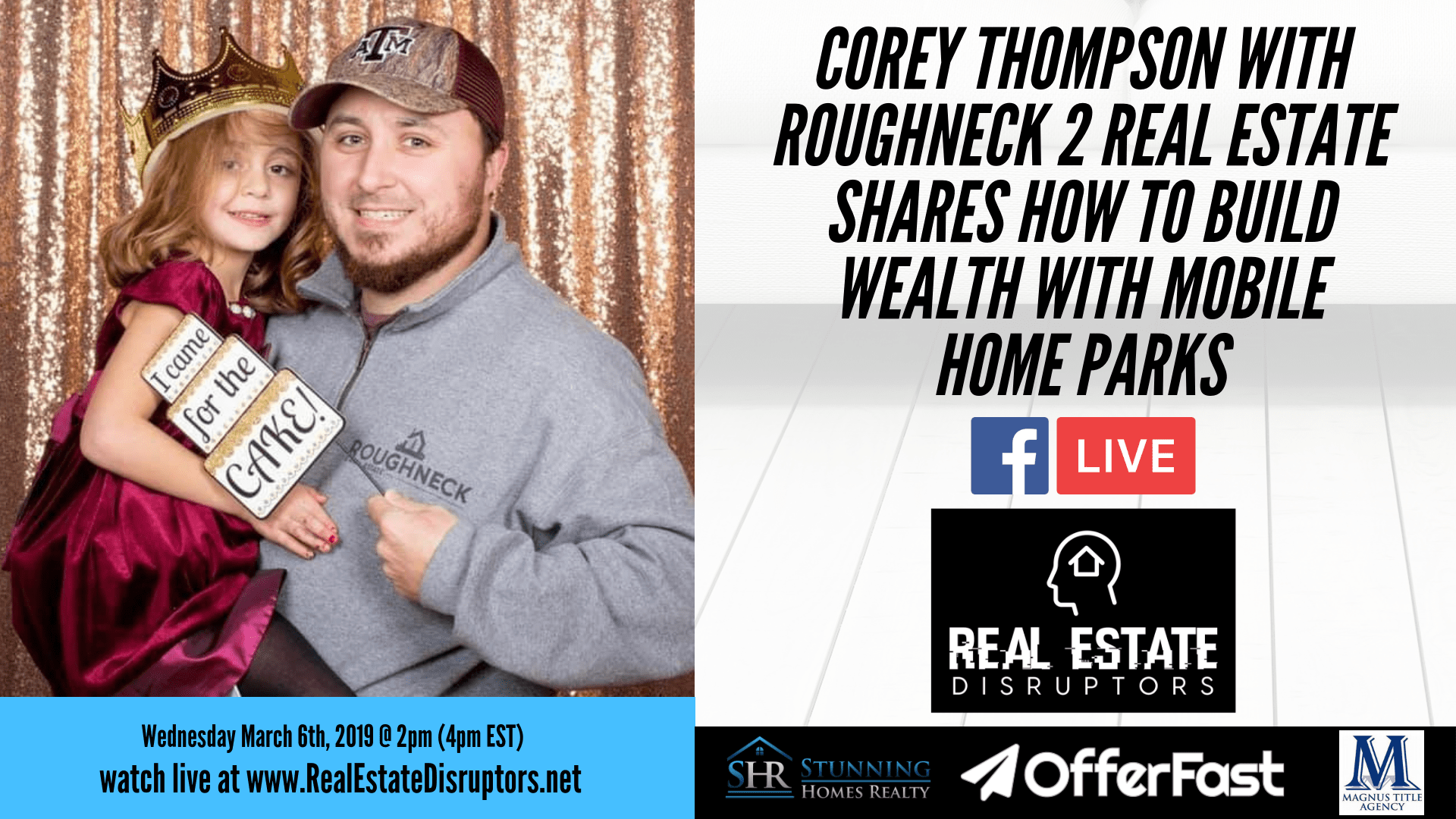 Corey Thompson Shares How To Build Wealth Through Mobile Home Parks
