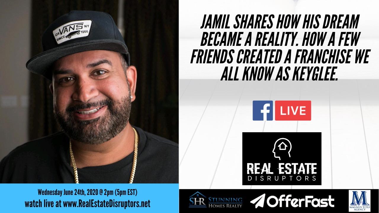 Jamil Damji shares how his dream became a reality. How a few friends created KeyGlee