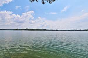 Huge views from this home for sale on Lake Martin.