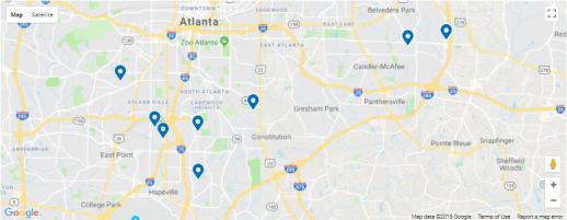 Small Atlanta SFR Portfolio – 8 Properties