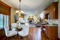 dining-family-stairs Laurie Way Announces | Dumas Bay - Federal Way | 2824 SW 302nd Place, Federal Way WA 98023