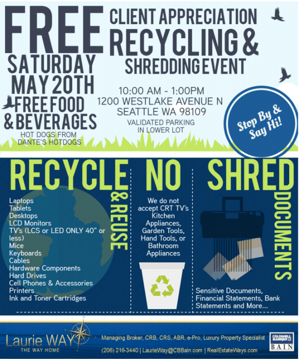 recycle Client Appreciation Event!