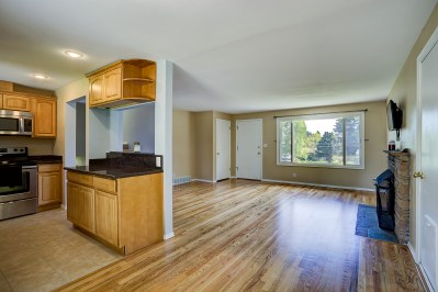 dining-kitchen-living Laurie Way Announces | Des Moines Multi-Level Home with Large Yard!
