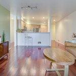 living-kitchen LAURIE WAY ANNOUNCES | Queen Anne Condo with Rooftop Deck