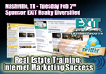 Nshville TN Real Estate Training: Internet Marketing Success - Seminar Designed by Key Yessaad